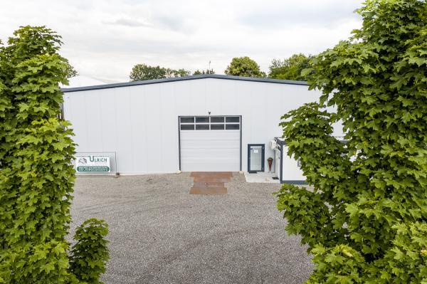 Produktionshalle Ulrich Maschinenbau